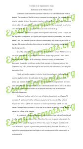 sample of argumentative essay writing
