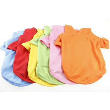Autumn solid color <b>warm pet clothes</b> dog POLO shirt | Shopee ...