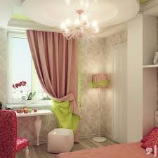 enticing glass chandelier with pink windows curtain and pink chairs and corner shade stand lamps design bedroom chandelier lighting
