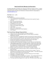 kitchen manager resume job description sample cvs sample kitchen manager resume job description kitchen staff job description best sample resume resume samples for kitchen