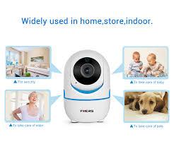 <b>FUERS</b> HD 720P/1080P Wifi <b>IP Camera</b> Two-way Audio Indoor ...