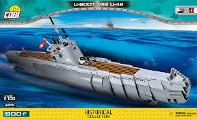 Немецкая подводная лодка <b>U</b>-<b>boot U</b>-<b>48</b> VII B. <b>COBI</b>-4805.