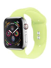 Ремешок <b>силиконовый</b> для Apple Watch Sport 38/40 Lemony ...
