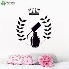 <b>YOYOYU Wall Decal</b> Fashion Manicure <b>Vinyl Wall Sticker</b> Nails ...