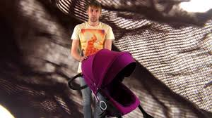 Как снять текстиль с коляски stokke видео - YouTube