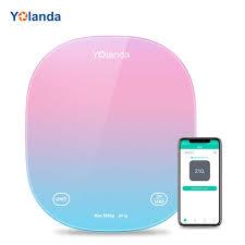 Yolanda CS20A <b>WiFi</b>+<b>Bluetooth Body</b> Fat Scale <b>Smart</b> Electronic ...