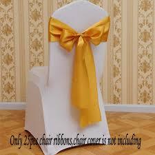 Fvstar <b>25pcs Chair</b> Ribbons Bows Satin We- Buy Online in Bahamas ...