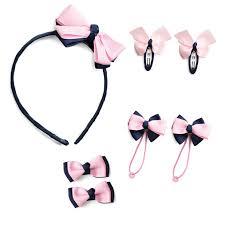 Комплект <b>аксессуаров</b> для девочек: ободок, <b>резинка</b> - <b>PlayToday</b>