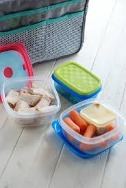 ampamp prep table: fit amp fresh containers and my cooler purse organizer are the perfect combo for daily food