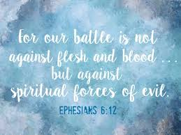 Image result for spiritual battle
