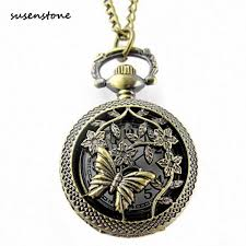 Susenstone Luxury Pocket Watch Men Women <b>Vintage Steampunk</b> ...