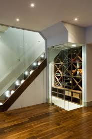 walnut veneer wine boxes inside the contemporary wine cellar design urban cape box version modern wine cellar furniture