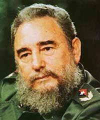 Fils d'un riche planteur de Cuba, <b>Fidel Castro</b> suivit des études de droit à <b>...</b> - fidel_castro
