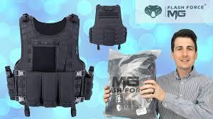 MGFLASHFORCE <b>Tactical Vest</b> Review   Adjustable Breathable ...