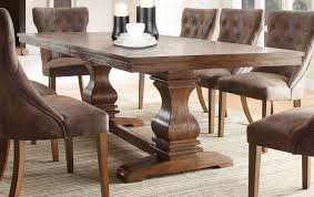 Distressed Dining Room Chairs Black Rustic Dining Table House Plans And More House Design