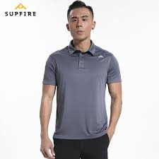 <b>Supfire Sport</b> Shirt <b>Men</b> Running Fitness <b>Polo</b> Shirt Quick Dry <b>Sports</b> ...