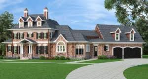 Colonial House Plans   Home Plans  amp  Styles   Archival DesignsAmara House Plan