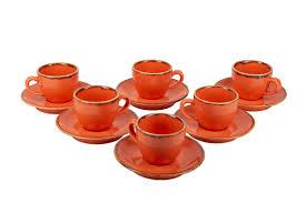 Porland <b>Набор кофейных пар</b> 80 мл Сизонс (12 предметов ...