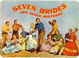 Resultado de imagem para sete noivas para sete irmãos