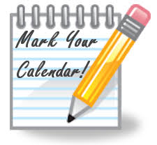 Image result for mark your calendar free clipart