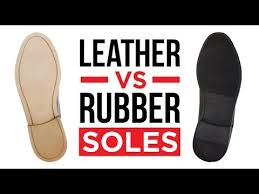 <b>Leather</b> Vs Rubber Sole Shoes | Which Shoe Soles Are Better ...