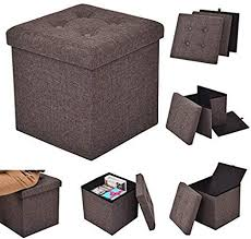 CASART Ottoman <b>Single Seater</b> - <b>Single Seat</b>, Foldable <b>Stool</b> Box ...