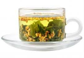 Premium <b>Organic Genmaicha</b> Japanese <b>Brown</b> Rice Green Tea