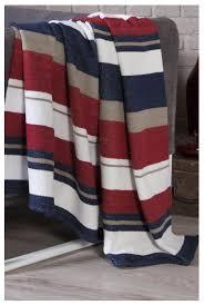 Купить <b>Плед KARNA хлопок RANA</b> 3083/2, 150 x 240 см красный ...