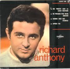 45cat - Richard Anthony - On Twiste Sur Le Loco-Motion (Twistin' To The Loco-Motion) / Ne Prends Pas Mon Amour ... - richard-anthony-on-twiste-sur-le-locomotion-twistin-to-the-locomotion-columbia
