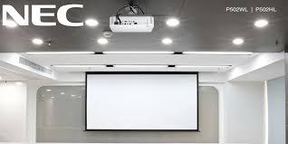 Новые лазерные <b>проекторы NEC</b>, цены, срок начала поставок