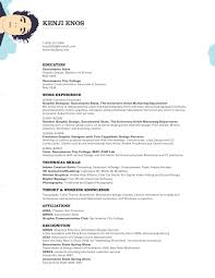 traditional resume kalvin kleen marketing and design traditional resume 0259