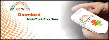 Mobile application for India272+ launched by Shri Narendra Modi