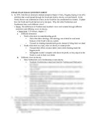 final exam essay question outlines pdf history 2111 final exam essay question outlines pdf history 2111 saunt at university of studyblue