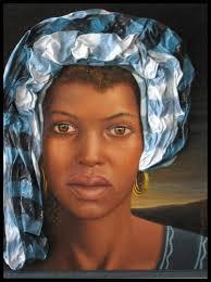 Mujer Africana > Pilar Martin Luis · siguiente · anterior · Mujer Africana Lienzo Óleo Retrato - 4784909882950349