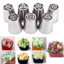 2019 <b>Diy Stainless Steel</b> Nozzle Biscuits Sugarcraft Pastry Reusable ...