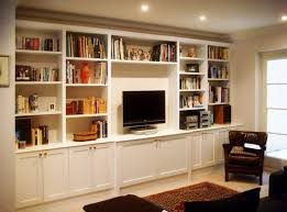 fitted alcove cupboards built in study furniture