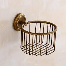 China <b>Flg</b> Antique Brass <b>Bath Toilet Paper Holder Bathroom</b> Fitting ...