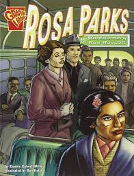 rosa parks and the montgomery bus boycott graphic history rosa parks and the montgomery bus boycott graphic history connie colwell miller dan kalal 9780736896580 com books