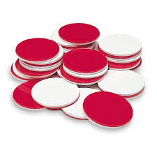 Learning Resources Two-Color Counting <b>Chips</b>, Red and White ...
