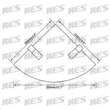 bathroom tempered glass shelf: kes bgs  lavatory bathroom corner tempered glass shelf mm thick wall mount triangular