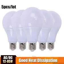 <b>LED Bulb</b> Lamp <b>AC</b>/DC 12V 24V 36V <b>E27</b> 3w 5w 7w 9w 12w 15w ...