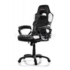 <b>Компьютерное кресло</b> (для геймеров) <b>Arozzi Enzo</b> - White