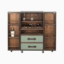 lovely steamer trunk cabinet 5 steamer trunk bar cabinet bar trunk furniture