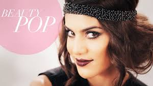 great gatsby inspired 1920s flapper makeup full look beauty pop with camila coelho the platform