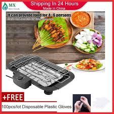 Generic [free Gift] <b>Household Smokeless</b> Durable <b>Electric Oven</b> BBQ ...