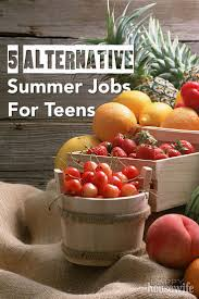 best ideas about student summer jobs summer 5 alternative summer jobs for teens