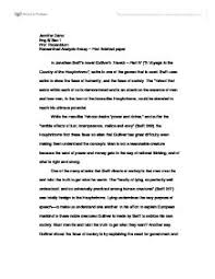 example of satire essay discuss satire in jonathan swifts novel gullivers travels part satire essay example