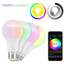 High Power LED Light <b>Bulb Smart WiFi E27 4.5W</b>/6.5W RGB ...