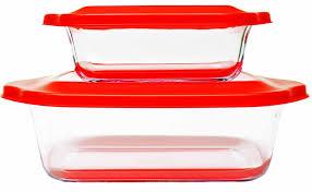 """<b>Набор стеклянных форм</b> для запекания """"Frybest"""", цвет: красный ..."""