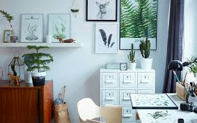 create a nature inspired interior awesome home office ideas ikea 3